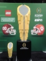 The National Championship Trophy, in lego form. (Photo: Bethany Cohen)